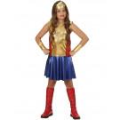 Costume Carnevale Bambina Wonderl Girl PS 25798 Travestimenti Bambine Effettoparty Store Marchirolo