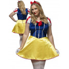 Costume Carnevale Donna Biancaneve Taglie Forti PS 07723 Effettoparty Store marchirolo