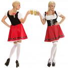 Costume Carnevale Donna Tirolese Oktoberfest Bavarese EP 08661 Effettoparty Store Marchirolo
