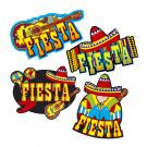 Accessori festa messicana, Decorazioni 55 cm  *03841   Effettoparty.com
