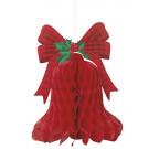 Accessori Arredo Festa, Decorazione Campana Rossa      Effettoparty.com