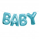 Ghirlanda Palloncini Mylar Scritta Baby Bimbo | Effettoparty.com