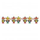 Accessori festa messicana, Ghirlanda Banner festone Messicano  *10924  Effettoparty.com