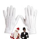 Guanti Bianchi Uomo per Costume anni 20 e Babbo Natale  | effettoparty.com