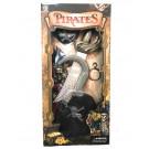 Kit Accessori Pirata Uncino Pugnale Carnevale Pirati EP 26570 Effettoparty store Marchirolo