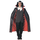 Mantello Lusso  per Costume Halloween Adulto Dracula 135 cm   *11135   Effettoparty.com