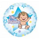 Palloncino Foil  Il Mio Battesimo Bambino  46 cm *00501  Effettoparty.com