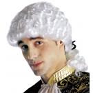 Parrucca Carnevale Adulto Marchese, Mozart, Rinascimento | Effettoparty.com