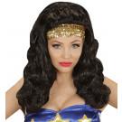 Parrucca Supereroina  Travestimento Carnevale Donna   Effettoparty.com