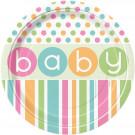 Accessorio Festa Baby Shower , 8 piatti Carta