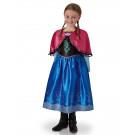Vestito Carnevale Bambina Disney Travestimento Frozen Anna