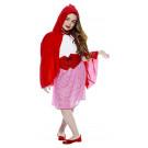 Costume Carnevale cappuccetto rosso travestimento bambina 05269 effettoparty