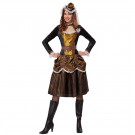 Costume Carnevale Steampunk Fantastientific Girl EP 26246 Effetto Party Store marchirolo