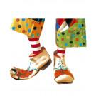 Copriscarpe Clown Accessorio Costume Carnevale Adulto Circo    Pelusciamo store
