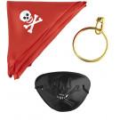 Set Accessori Travestimento Pirata  | Effettoparty.com