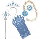 Kit Principesse Snow Princess Accessori Carnevale Principessa EP 26458 Effettoparty sTORE mARCHIROLO