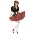 Vestito Carnevale Donna , Costume Scozzese Sexy