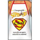 Grembiule Adulto Superchef , Scherzo Cuoco      Pelusciamo.com