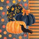 24 Tovaglioli in Carta Corvo , Accessori Festa Halloween | Effettoparty.com
