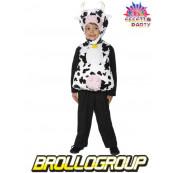 Travestimento Costume Carnevale Bimbo Mucca party animal *12222