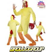 Travestimento costume Carnevale gallo party animal smiffys 32920 *17552