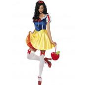Travestimento Costume Carnevale Donna Sexy Biancaneve EP 10291