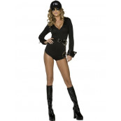 Uniforme Donna Agente FBI Sexy, Vestito Carnevale *10438