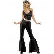Costume Carnevale abito Donna Disco Fever anni 70 EP 12349