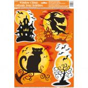 Sticker da Vetro, Adesivi Finestra, Accessori Festa Halloween  *18741