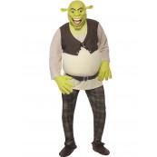 Travestimento Costume Carnevale Adulto Shrek *12424 Cartoni Animati